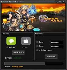 New Summon Masters Hack download working tool undetected.File updated 2016. No…