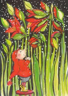 Pinzellades al món: Les il·lustracions de Virpi Pekkalan: nans, fades,...