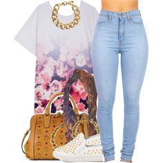 A fashion look from February 2015 featuring Finders Keepers, blue jeans and white shoes. Browse and shop related looks.