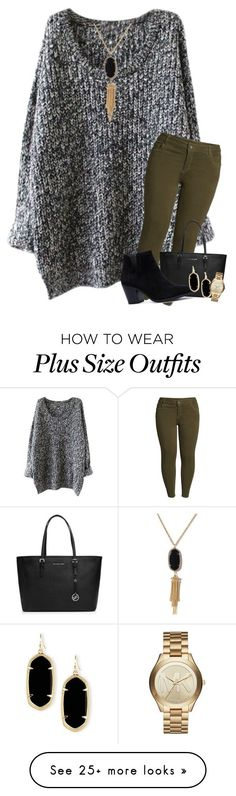 """Fall Fun"" by mre7986 on Polyvore featuring KUT from the Kloth, Kendra Scott, MICHAEL Michael Kors and Michael Kors"
