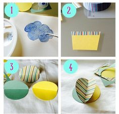 pacchetto con mongolfiera fai da te Big Shot, Origami, Packing, Breakfast, Artist, Flowers, Gifts, Diy, Ideas