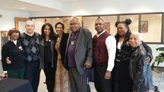 A true honor to have participated in FAMU's 1st Afrofuturist and Speculative Fiction symposium, with authors like William Hayashi, Valjeanne Jeffers, Milton Davis, Penelope Flynn, Tananarive Due, and Walter Mosley (not pictured). In the middle is civil rights activist John Due (Tananarive's Dad).