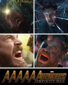 """The AAAAAAAvengers screaming. 31 """"Avengers: Infinity War"""" Memes That Are Funny And Also Traumatizing Avengers Humor, Marvel Avengers, Marvel Jokes, Marvel Comics, Films Marvel, Funny Marvel Memes, Dc Memes, Marvel Fan, Marvel Heroes"""