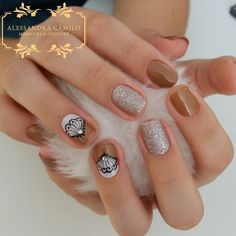 581 Me gusta, 12 comentarios - Alessandra Camilo SC (@alescamilo_) en Instagram Nail Decorations, Cute Nails, Pedicure, Nail Designs, Make Up, Nail Art, Instagram, Thalia, Beauty