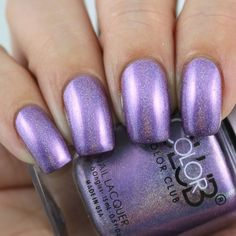 Color Club Metal Of Honor swatched by Olivia Jade Nails