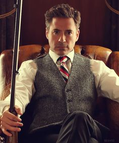 "Robert Downey Jr. - ""English gentleman"" photo shoot"