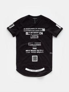 Print T-shirt Black - The Sting