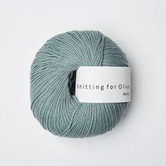 Støvet aqua Knitting for Olive   Til Margotbukse - baby