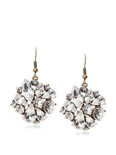 54% OFF Leslie Danzis Mixed Gem Drop Earring