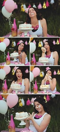 Adult Cake Smash - Danielle Birthday Wine Glass from The Noisy Design Naked… 27 Birthday Ideas, 40th Birthday Cakes, 27th Birthday, Birthday Cake Smash, 30th Birthday Parties, Birthday Photos, Birthday Fun, Thirty Birthday, Women Birthday