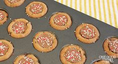 Gluten-Free Peanut Butter Chocolate Chip Cookie Cups | One Good Thing by Jillee