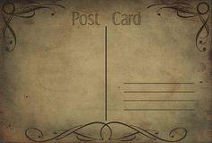 Post Cards Texture Set