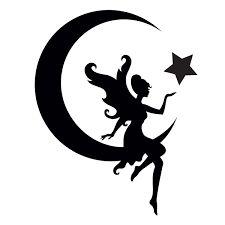 Resultado de imagem para angel moon tattoo