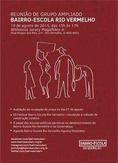Blog do Rio Vermelho, a voz do bairro: Reunião de grupo ampliado Bairro-Escola Rio Vermel...