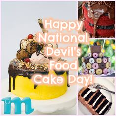 Celebrate National Devil's Food Cake Day with Delicious Cake Recipes