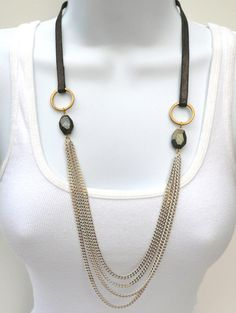 Julie Ann Art: October Giveaway #4: Chain Necklace