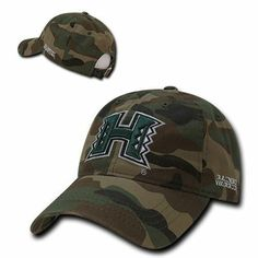 University of Cal State Poly Mustangs NCAA Flat Bill Gray Camo Camouflage Cotton Snapback Baseball Cap Hat