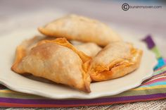chorizo and cheese empanadas~T~ Love these. The filling is just chorizo, potato and cheese. I have used cheddar and pepper jack.
