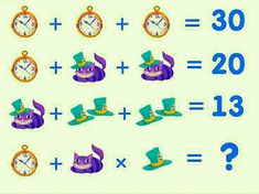 Can you solve this clock puzzles? Picture Puzzles, Clock, Watch, Clocks