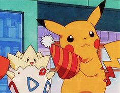 Pikachu & Togepi Party Time