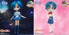 Official Sailor Mercury Pullip Doll http://www.moonkitty.net/where-to-buy-sailor-moon-pullip-dolls.php #SailorMoon #Pullip #SailorMercury