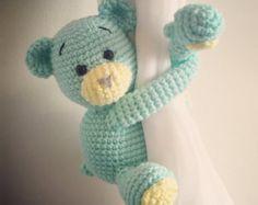 Gris mono cortina empate espaldas un par crochet por niceandcosee