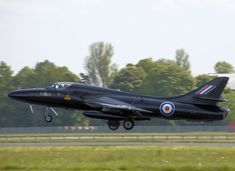 The Hawker Hunter is a transonic British jet aircraft developed in the late 1940s and early 1950s