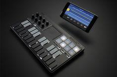 nanoKEY Studio MOBILE MIDI KEYBOARD | MIDI Controllers | KORG