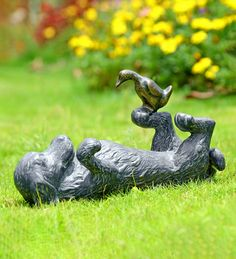 239 Best Animal Statues Accents Images In 2020 Garden Statues