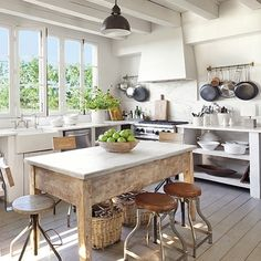 """502 Likes, 13 Comments - MILIEU Magazine (@milieumag) on Instagram: """"Keeping it casual and practical in the kitchen 