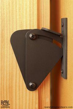 BARN DOOR LOCK Teardrop Privacy Lock for Sliding Doors - Real Sliding Hardware