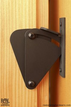 BARN DOOR LOCK Teardrop Privacy Lock for Sliding Doors - Real Sliding Hardware