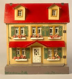 78.1952: dollhouse | Dollhouses | Toys | National Museum of Play Online Collections | The Strong