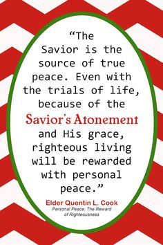 """Looking for a Christmas printable for December's visiting teaching message? Me too, and I couldn't find one. So I whipped this one together super fast and thought I would share with you. It is based on a quote from """"The … Continue reading →"""