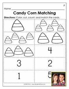 Free Candy Corn Graphing worksheet.   School   Pinterest ...