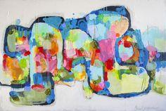 "Saatchi Art Artist Claire Desjardins; Painting, ""Awake At Night"" #art"
