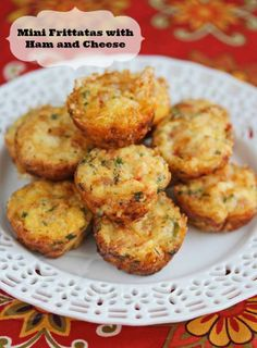 Mini Egg Frittatas with Vegetables