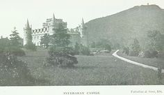 Early years at Inverary Castle. Inveraray Castle, Loch Fyne, Small Towns, Family History, Genealogy, Castles, Scotland, Dreams, Chateaus