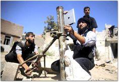 Imagem da Semana: um iPad como arma de guerra