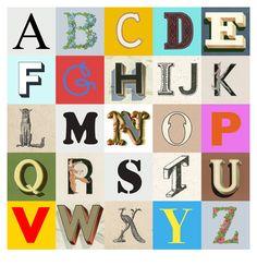 Peter Blake alphabet