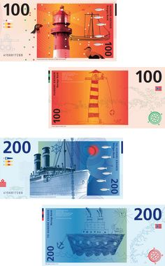 Best idea from Norway's currency design competition  - Let the kids design the money
