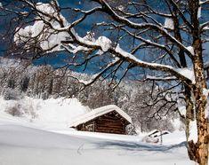 Verschneiter Stall im Winter #kleinwalsertal #visitvorarlberg Alpine Village, Snow, Outdoor, Pictures, Winter Landscape, Photographers, Outdoors, Outdoor Games, Outdoor Living