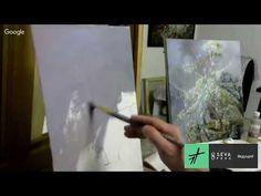 Александр Маранов Картина в технике Сияние 'Звенящий кедр' - YouTube