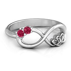 Love this for a promise ring, but with our birthstones