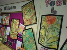 Year 4 William Morris Inspired Drawing Project Teaching Displays, School Displays, Victorian History, Victorian Art, School Art Projects, Classroom Projects, William Morris Art, Drawing Projects, Art Club