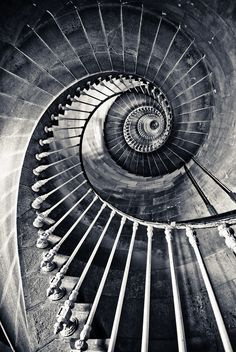 """stairs; """"The belly of the whale"""""""