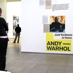 """Making money is art"" 