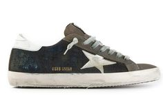 Golden Goose Deluxe Brand Superstar - Brown Navy Jeans