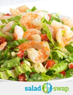 *Instead of Coconut Shrimp try this Coconut Shrimp Salad.*  *Coconut Shrimp: 1310 Calories Coconut Shrimp Salad: 400 Calories*  *Serves 4*