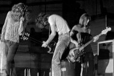 Led Zeppelin in Raleigh, 1970.